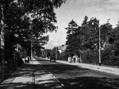 Soestdijkerstraatweg. gezien vanaf het instituut Resa richting Baarn