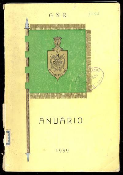 Anuário da GNR Guarda Nacional Republicana de 1959