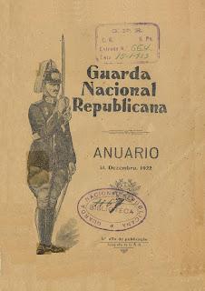Anuário de 1922 da Guarda Nacional Republicana [GNR]: 1º ano da publicação