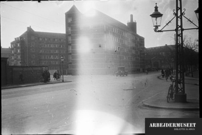 Sygeplejerskernes hus,Sjællandsgade 59, København N, indefra mod de små vinduesudspring