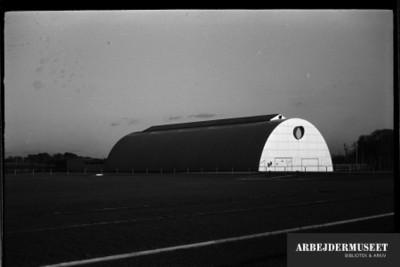 Vilhelm Lauritzens byggeri, Gladsaxe Skole, 1936/1937, gymnastikhallen