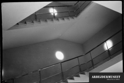 Vilhelm Lauritzens byggeri, Gladsaxe Rådhus. trapper
