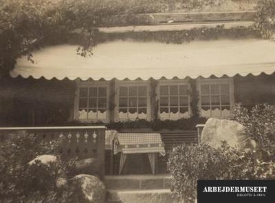 Et sommerhus i Fakse Ladeplads, som Stauning skulle have benyttet engang