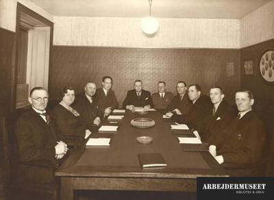 Bestyrelsen for Syge- og Begravelseskassen Enigheden af 1880