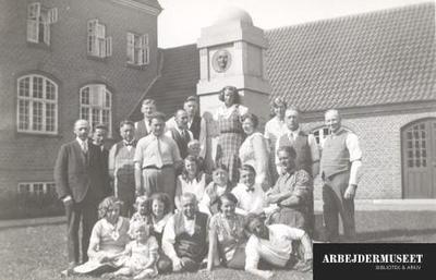 Gruppebillede fra Esbjerg Højskole