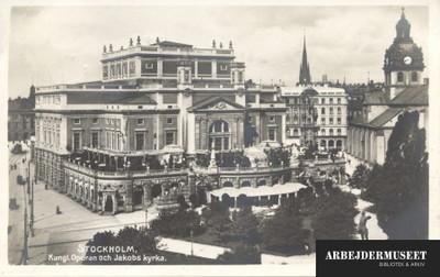 Den kongelige opera i Stockholm
