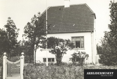 Boligkvarter med villaer i Brønshøj, her Gåseurtvej 14