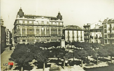 Pamplona. Plaza de San Francisco