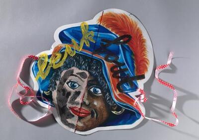 Zwarte Pietmasker