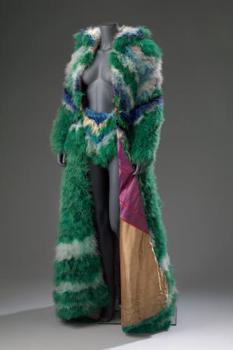 Marabou mantel en broekje