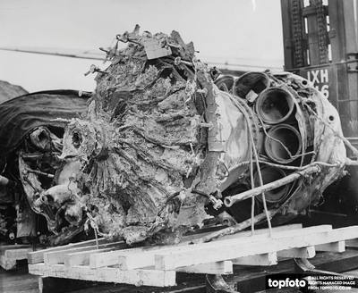 BOAC Comet jetliner, Flight 781 crash