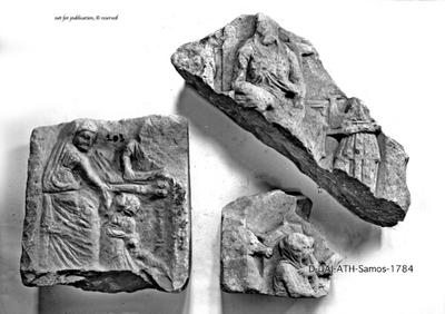Fragment eines Grabreliefs
