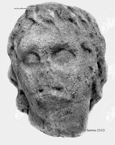männlicher Kopf (Flussgott ?)