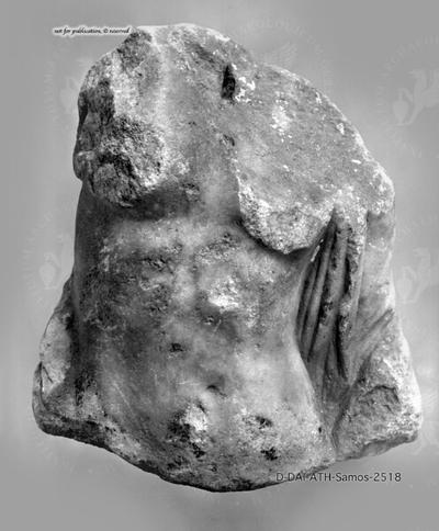 Oberkörperfragment einer weiblichen Statuette