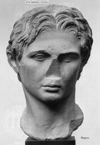 Portraitkopf Alexander des Großen