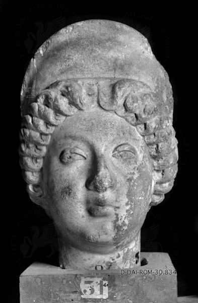 Portraitkopf der Faustina minor
