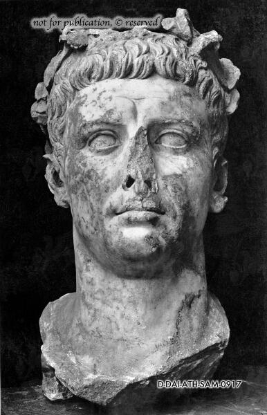 Portraitkopf des Claudius