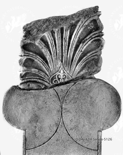 Fragment eines Anthemions