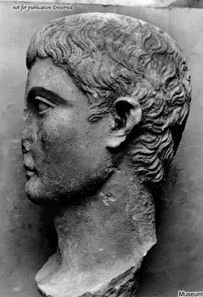 Portraitkopf des Germanicus