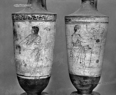 weißgrundige Lekythos nach Art des Tymbos-Malers