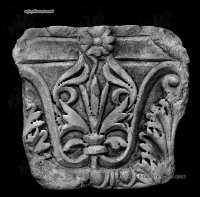Byzantinisches Kapitellfragment