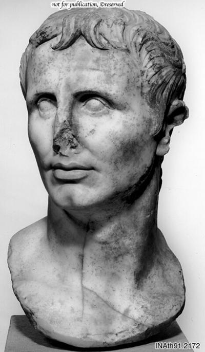 Portraitbüste des Augustus