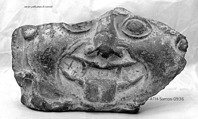 Antefix mit Gorgoneion