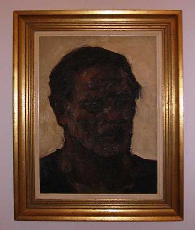 Lucien Nolens (1879-1954), Mannenhoofd, s.d., olie op doek.