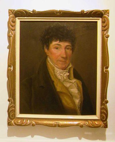 Judith Crollen (1898-1983), Portret van Guillaume Claes (1752-1841), 1957, olie op doek.