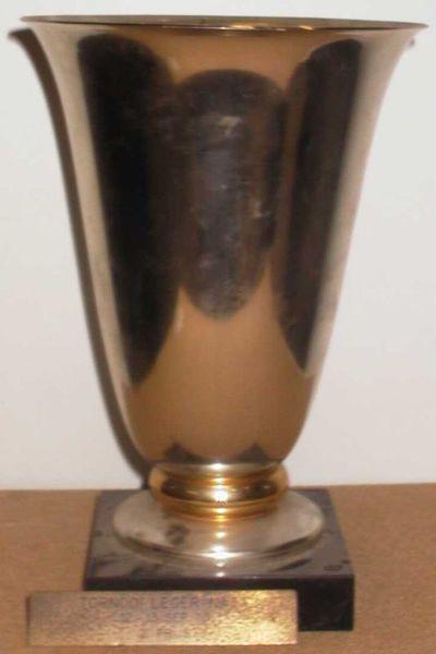 Anoniem, Beker Tornooi LEGER-NATIE 12-13 SEP 70 2e prijs, 1970, metaal, kunststeen.