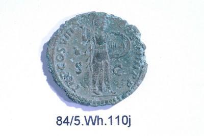 Volledige as van Domitianus (munt) in brons