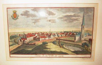 Remacle Le Loup (1694-1746), Vue de la Ville de Looz, ca. 1740, papier, kopergravure.