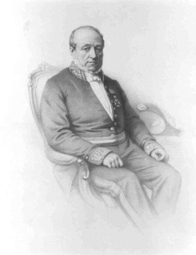 Anoniem, Portret van Michel Arnold Bamps (1793-1865), s.d., papier, lithografie.