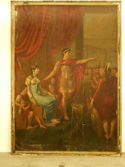 Caesar (?) en Cleopatra