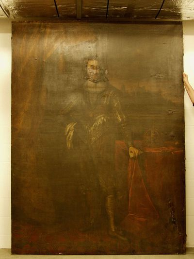 Portret van een man (Karel V?)