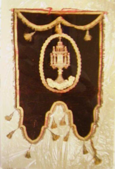 Anoniem, processievaandel, s.d., fluweel, zijde.