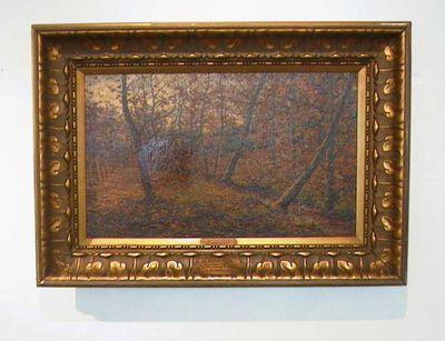 Jan Joseph Van Brabant (1874-1941), L'Automne, 1911, olie op doek.