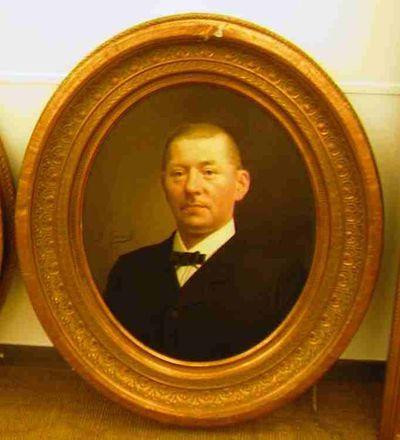 Michel Geraets (1829-1908), Theodoor Beeken, 1891, olie op doek.
