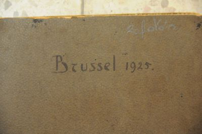 Fotoalbum Brussel 1925