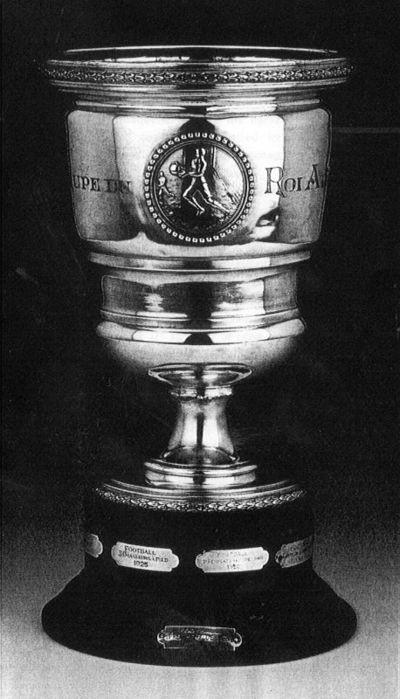 Auguste Feys (? - vóór 1916), Coupe du Roi Albert, 1920, zilver, hout.