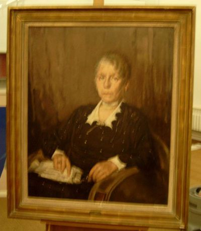 Paul Hermans (1898-1972), Portret van mijn moeder, s.d., olie op doek.