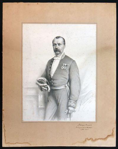 Joseph Schubert (1815-1885), Portret Gaspard Bamps, 1880, lithografie.