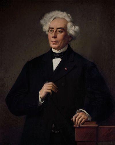 Godfried Egide Guffens (1823-1901), Portret van hoogleraar en staatsman Jean Joseph Thonissen (1816-1891), 1877, olie op doek.