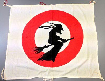 Anoniem, vlag de van Heksenstoet van de Banneuxwijk, s.d., katoen.