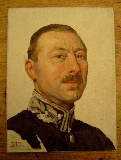 Jos. Damien (1879-1973), studie van portret Dokter Roelants, s.d., olie op paneel.