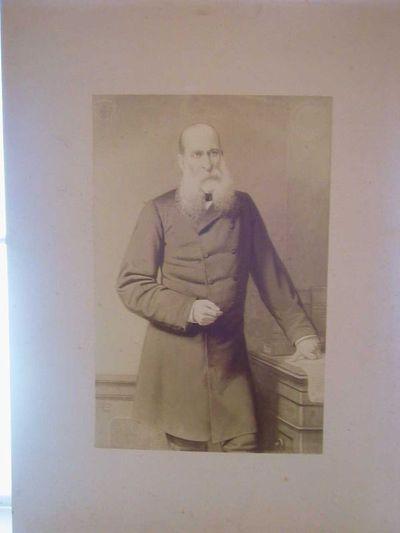 Godfried Egide Guffens (1823-1901), portretfoto van Chevalier de Menten de Horne, 1888, papier.