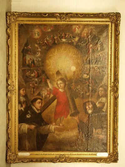 Jezuskind, Dominicus en Franciscus