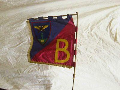 Anoniem, vaandel 31 A - B, s.d., dubbele zijde, vilt, velours.