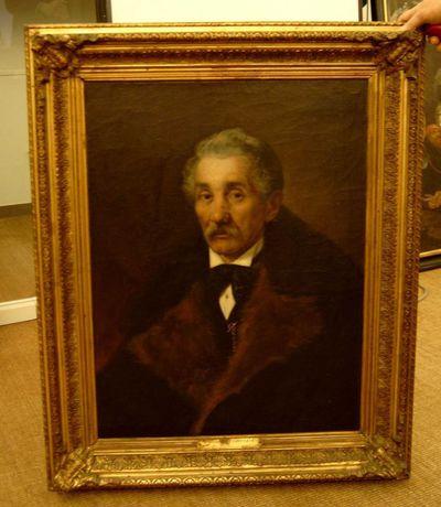 Sophie de Bourtzoff, Portret van mijn vader, s.d., olie op doek.