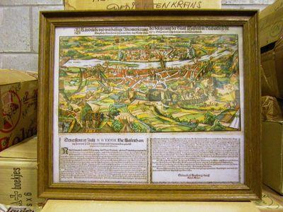 Anoniem, prent De aanval van de Hertog van Parma op Maastricht in 1579, s.d.